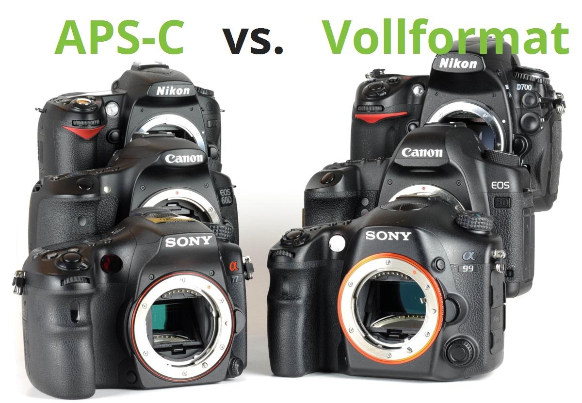 Vollformat oder APS-C Sensor? Die richtige Kamera finden