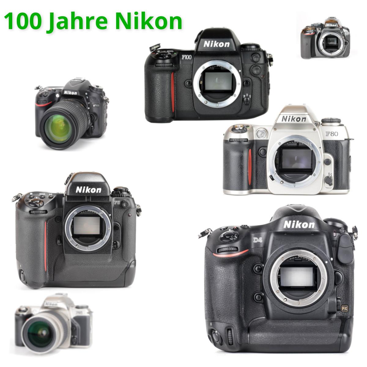 Nikon wird 100 Jahre alt! Und wir geben bis zu 100€ Rabatt!