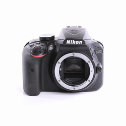 Nikon D3400 SLR-Digitalkamera (Body) (wie neu)